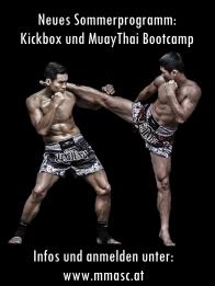 Sommerprogramm Kickbox und Muaythai Bootcamp